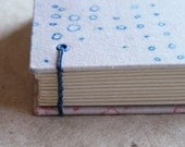 SALE 50% off! Hand Dyed Coptic Bound Mini Journal - The Chloe
