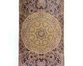 Leather iPhone 6 case sleeve - Elegant Lace Design
