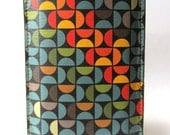 Leather iPhone (All) iTouch (All) case Geometric design