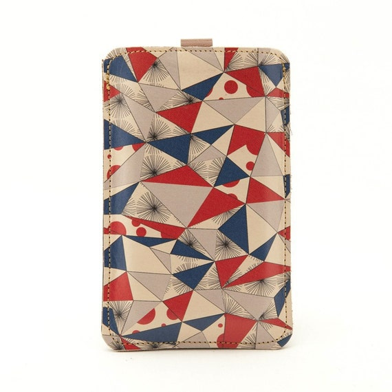 Special edition Leather iPhone/iTouch/HTC (Desire/Mozart) Case - Scandinavian style