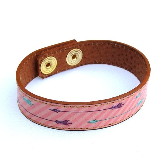 Leather Bracelet - Arrows