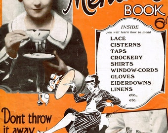 1930s Household make do and mend, mending, recycling digitalised ebooklet