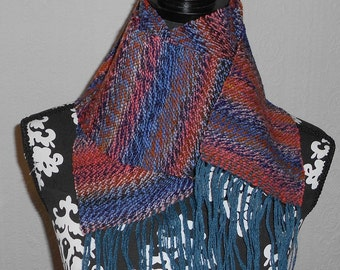 Gypsy Handwoven Wool Scarf