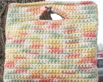 Spring Fever Crocheted Handbag Clutch