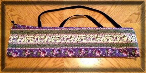 Yarn Swift Carrying Bag - Purple/Green Print