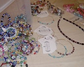 20 Pieces of Beaded Jewelry and Novelty Items