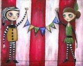 Circus - Original Acrylic Painting