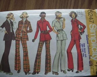 Vintage Simplicity 5247  Size 20-1/2 Pattern