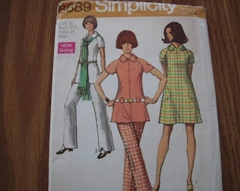 Vintage Simplicity Pattern 8689 Misses 10