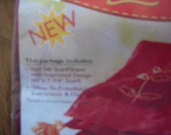 Red Silk Scarf Kit