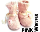 BABY BOOTIES - Pink Whisper Boot - PDF ePattern