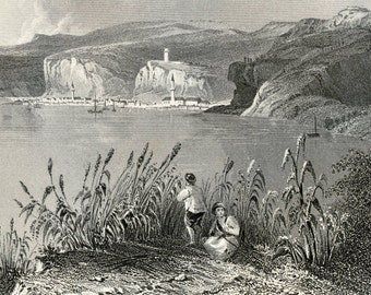 1857 Antique Plate of Nicopoli, Bulgaria