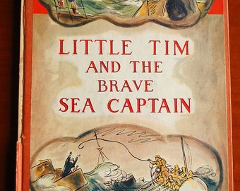 1936 Rare FIRST EDITION Children's Book. Little Tim and the Brave Sea Captain by Edward Ardizzone