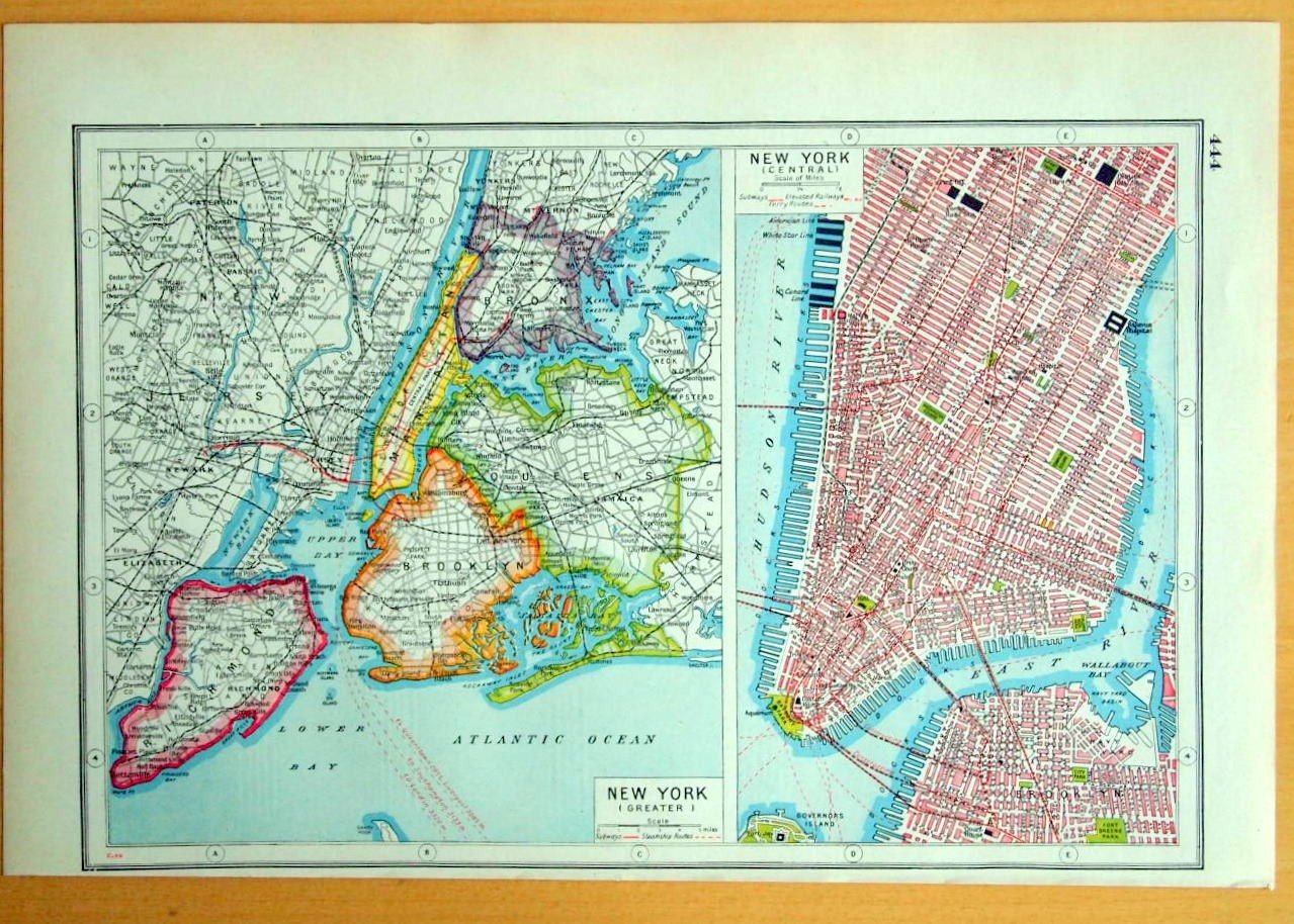 Black And White New York City Precincts Map Pictures to Pin on