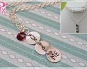 Handstamped U ME Necklace by Pinx Jewelry