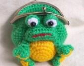 Amigurumi Crochet PDF Pattern  Download - Frong Coin purse