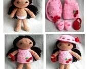 Instant Download PDF Crochet pattern - Costume Joy