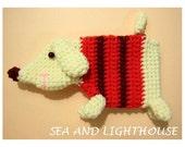 Instant Download PDF Amigurumi Crochet Pattern - Dog Coin Purse
