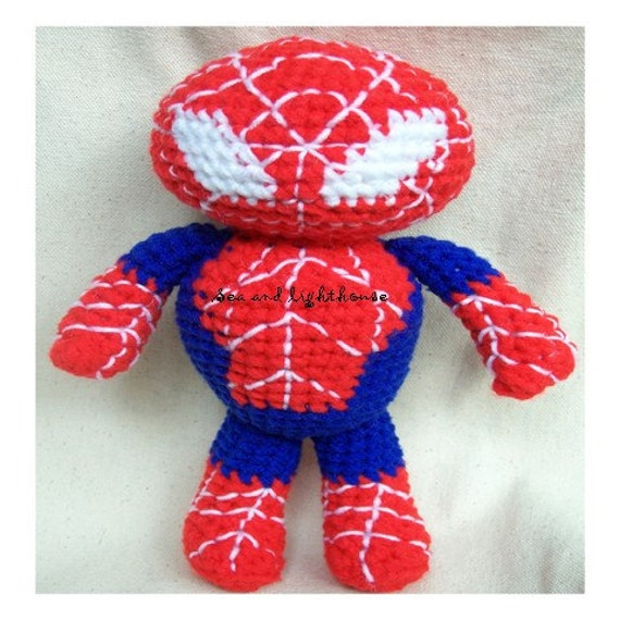 Crochet pattern The Hero Spider Man