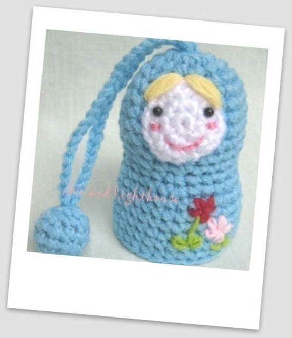 Amigurumi Nesting Dolls : Items similar to Instant Download PDF Amigurumi Crochet ...