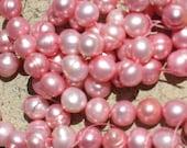 SALE SALE Big Pink Pearls