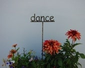 Metal Garden Sign Your choice 53 words to choose from ...19 Inches Tall