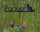 Garden Marker Metal Sign for Pet or Children Memorial sign