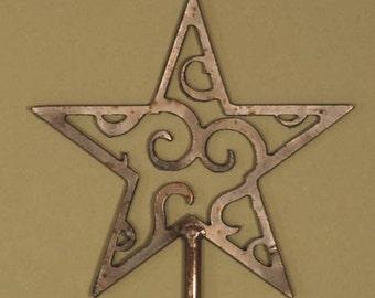 Celestial Star Steel Garden Stake