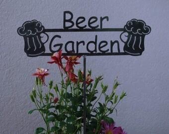 GREAT GIFT ITEM  - Beer Garden Sign