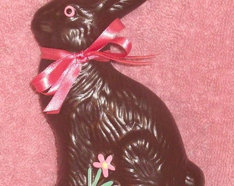 Ceramic Chocolate Easter Bunny Rabbit Fake Food
