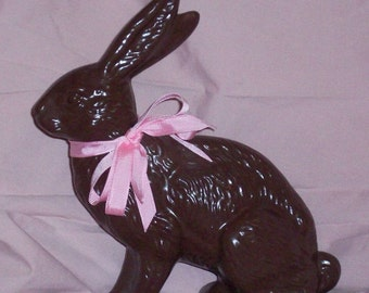 Ceramic Chocolate Easter Bunny Rabbit Fake Food Looks Real