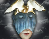 Fly By Night - Ceramic wall mask