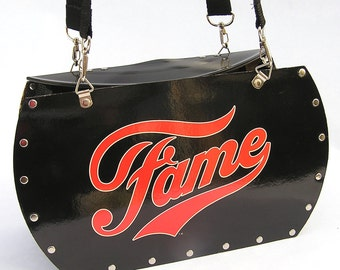 Fame Soundtrack Record Album Purse