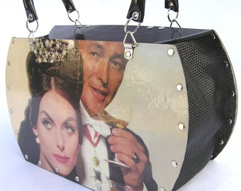 Strauss Waltzes Record Album Purse