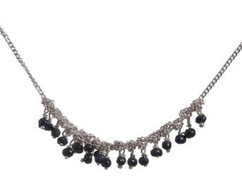Gemogli Black Pearl Necklace