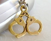 Golden Handcuffs charm