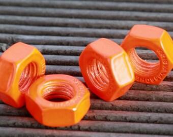 an Orange luminous bolt pendant 1