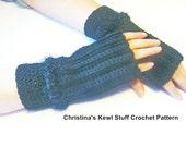 fingerless gloves crochet pattern pdf 101