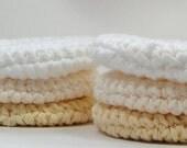 Pure Spa Crochet Facial Pads, Reusable Cotton Rounds