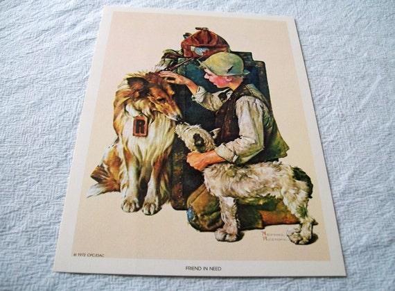 Vintage Norman Rockwell Prints