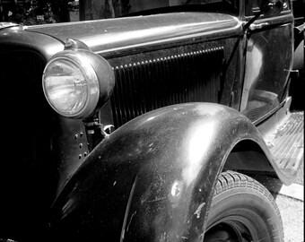 Vintage Model T/ Classic Car - Idyllwyld, California - Home Decor, Wall Decor