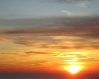 A New Day/ Sunrise - 8 X 10 Signed fine art photograph - wall decor- affordable art