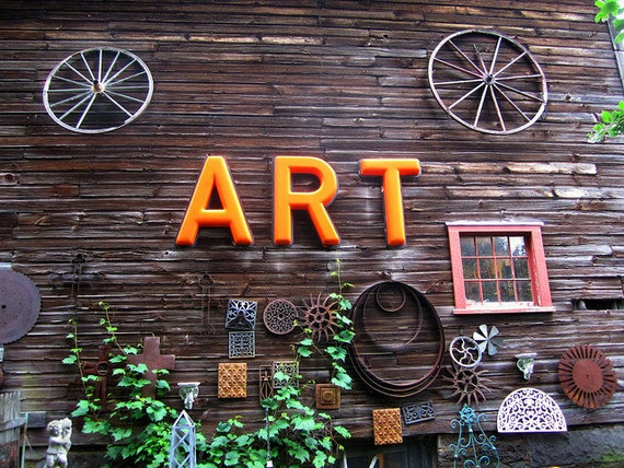 """Art Grows - Milford, NY  8"""" X 10"""" Photograph Print / Affordable Home Decor"""