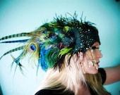 The Envy Headdress- Custom Colors Available- OOAK Made to Order, Bespoke