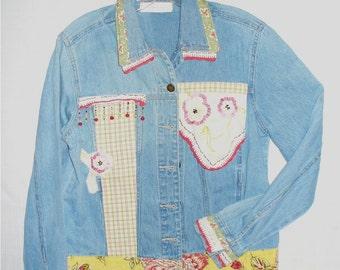 Vintage Linens Jacket Eco friendly too