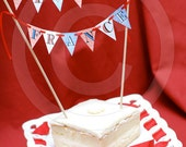 Happy Birthday Cake Bunting: Any Theme from B.Nute's Personalized Banner Collection