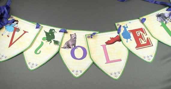 Wizard of Oz or Wicked Personalized Banner