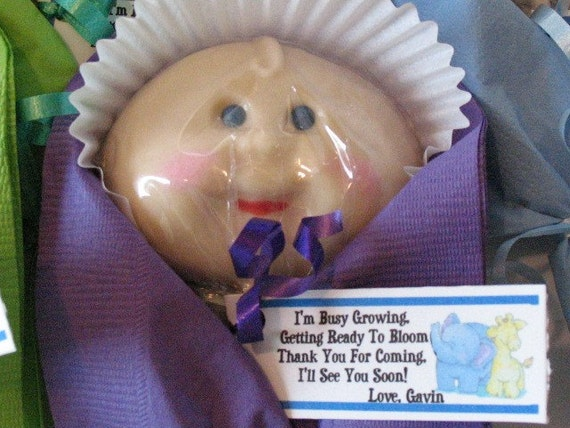 Unique ETHIC  CHOCOLATE Lollipop Baby Shower Party Birthday Favors Boy Girl