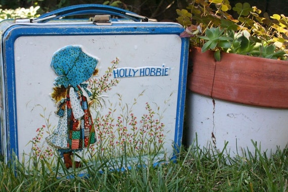 Vintage Holly Hobbie lunchbox