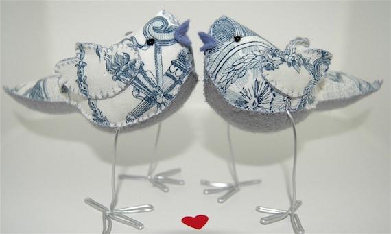 TOILE ET MOI FOREVER - Love Birds cake topper